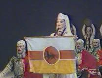 Осетинские танцы и хоровые песни