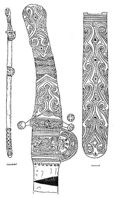 Вооружение племен Северного Кавказа в раннем средневековье